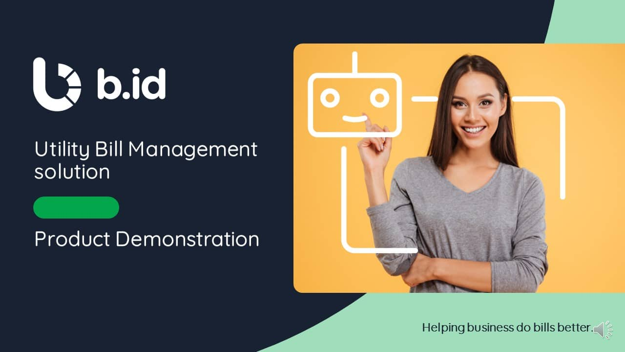 Utility Bill Management Product Demonstration